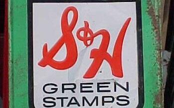Stuck on Green Stamps