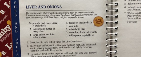 Goodbye, Liver and Onions